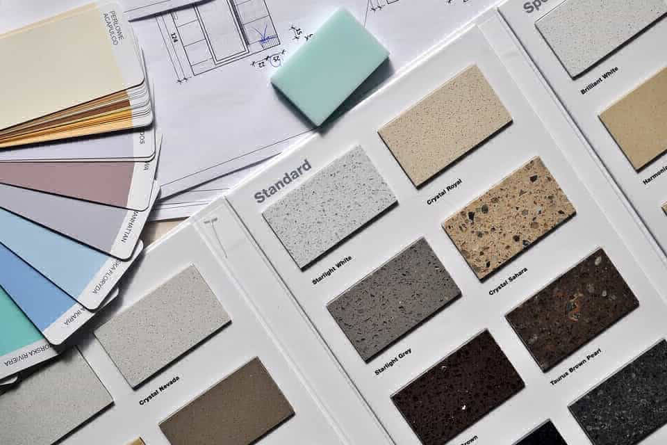 Countertops, tile and color make your bathroom renovation complete.