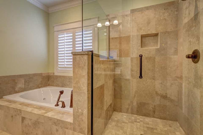 Custom showers and tile work will create a truly unique space.